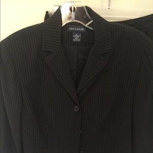 Ann Taylor's Women's pinstripe suit Size 4